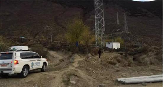 中国移动西藏公司应急通信队第一时间进入震中村