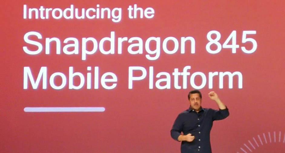 Qualcomm推出骁龙845移动平台