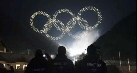 奥运会首秀:英特尔Shooting Sta无人机high翻全场