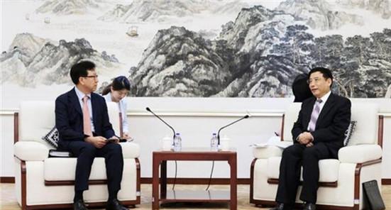苗圩會見三星大中華區總裁:就5G等議題交換意見