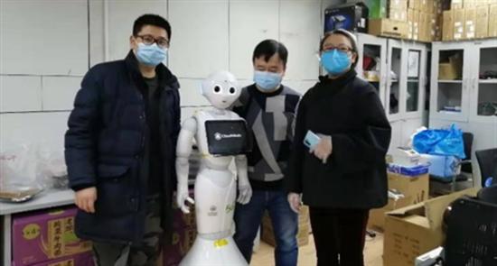 首批5G云端智能機器人武漢、上海醫院即將上崗