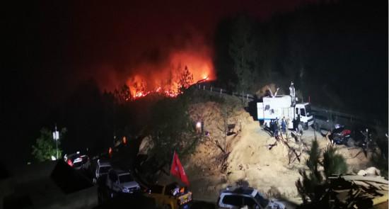 四川通信業全力保障涼山森林火災應急通信