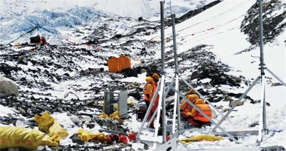 今日,中国移动5G信号成功覆盖珠峰峰顶