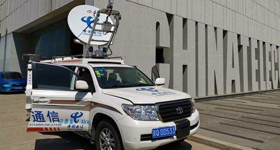 """中国电信北京公司确保全国两会、汛期通信""""双保险"""""""
