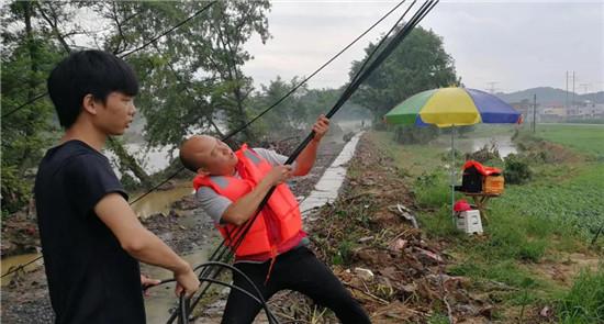 保障通信生命线 中国联通在行动!