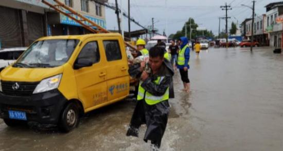 四川盆地持续强降雨,中国电信全力抢险保通信