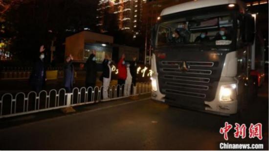 武汉大学中南医院5G移动CT驰援河北